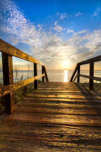 Hobe Sound Photograph - Start Of The Day by Debra and Dave Vanderlaan