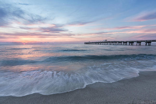 Lake Worth Wall Art - Photograph - Start The Day by Jon Glaser