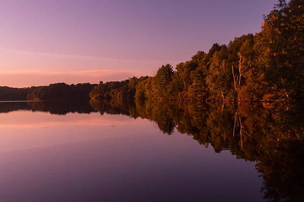 Sturgeon River Photograph - Starting Sunset by Robert Torkomian