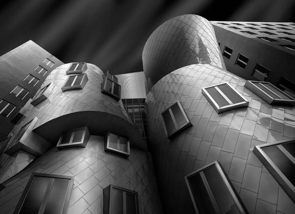 Modern Architecture Photograph - Stata Center by Louis-philippe Provost