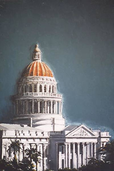 State Capitol Art Print by Paul Guyer