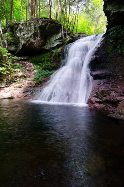 Photograph - Waterfall by Crystal Wightman