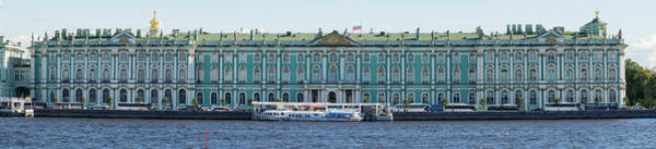 Hermitage Photograph - State Hermitage Museum Viewed From Neva by Panoramic Images