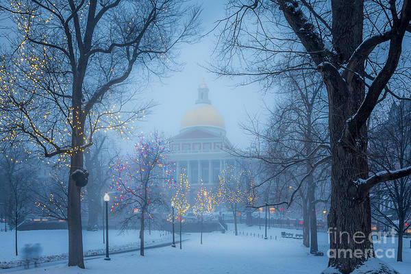 Photograph - State House Holiday by Susan Cole Kelly