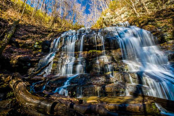 Photograph - Station Cove Falls 4 by Randy Scherkenbach