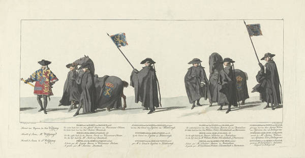 Wall Art - Drawing - Station Of William Iv, 1752, Plate 18, Jan Punt by Jan Punt