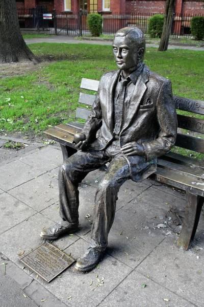 Code Breaker Wall Art - Photograph - Statue Of Alan Turing by Martin Bond