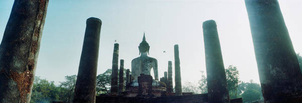 Giant Buddha Photograph - Statue Of Buddha At A Temple, Sukhothai by Panoramic Images