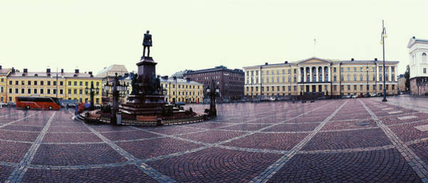 Senate Photograph - Statue Of Emperor Alexander II by Panoramic Images