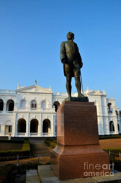 Photograph - Statue Of Gregory Outside National Museum Colombo Sri Lanka by Imran Ahmed