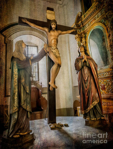 Photograph - Statue Of Jesus by Adrian Evans
