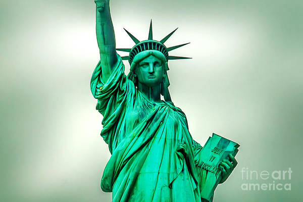 Statue Photograph - Statue Of Liberty by Az Jackson
