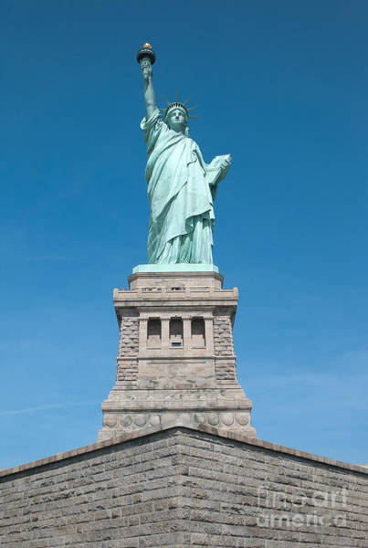 Photograph - Statue Of Liberty II by Clarence Holmes