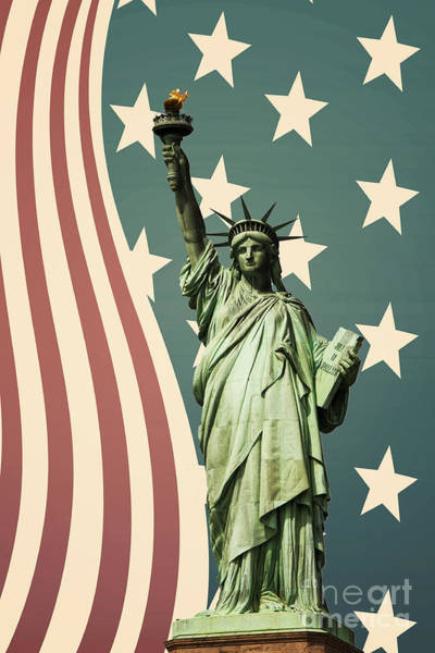 Statue Wall Art - Photograph - Statue Of Liberty by Juli Scalzi
