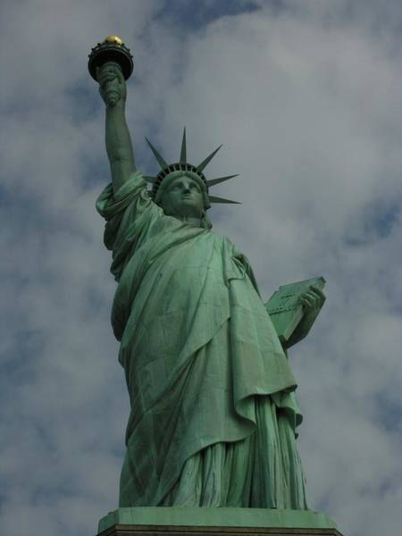 Work Of Art Digital Art - Statue Of Liberty by National Park Service