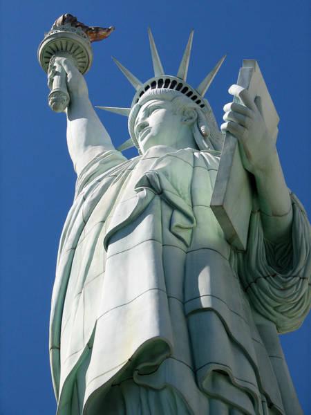 Photograph - Statue Of Liberty by Susan Leonard