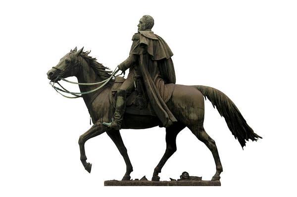 Photograph - Statue Of Simon Bolivar by Fabrizio Troiani