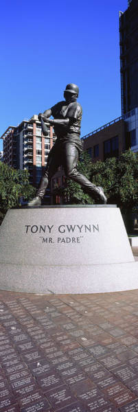 Wall Art - Photograph - Statue Of Tony Gwynn At Petco Park, San by Panoramic Images