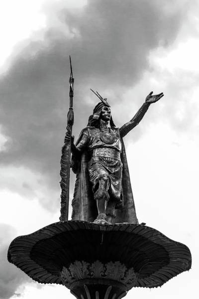 Cusco Photograph - Statue Of Tupac Amaru II by Photostock-israel/science Photo Library