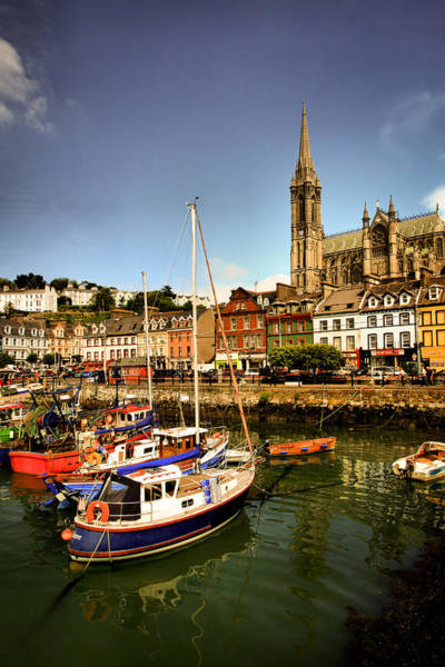 Mark Coleman Wall Art - Photograph - St.colemans Viewing The Harbour by Mark Callanan