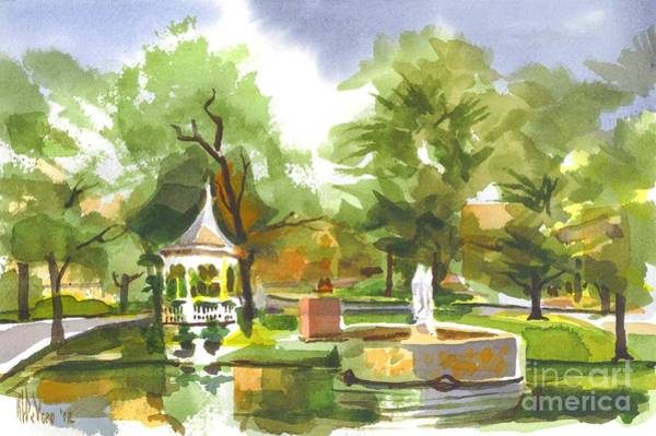 Painting - Ste. Marie Du Lac In Watercolor by Kip DeVore