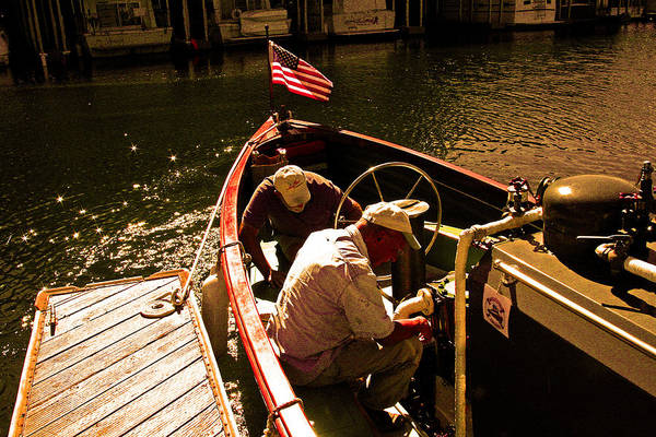 Photograph - Steam Boat Repair 101 by Joseph Coulombe