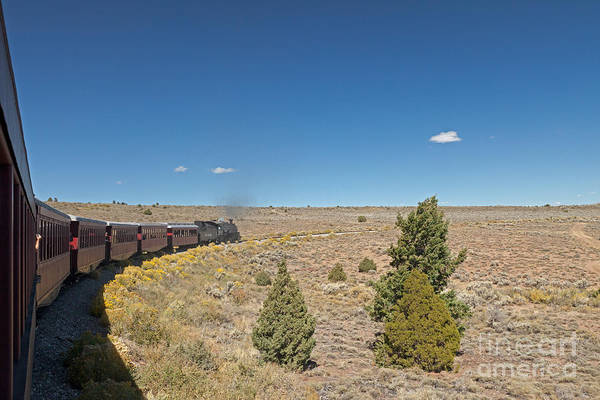 Photograph - Steam Engine 489 At The Lava Tank On The Cumbres And Toltec Scenic Railroad by Fred Stearns