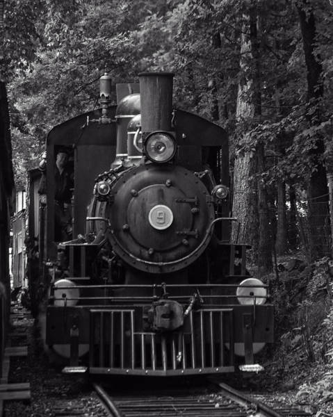 Photograph - Steam Engine Train by Chris Flees