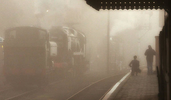 Photograph - Steam Engines At Dawn by Tony Mills