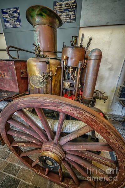 Boiler Photograph - Steam Fire Engine by Adrian Evans