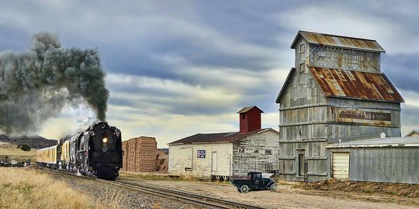 Wall Art - Photograph - Steam In Castle Rock by Ken Smith