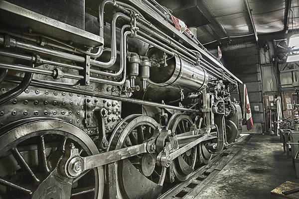 Wall Art - Photograph - Steam Locomotive 2141 by Theresa Tahara