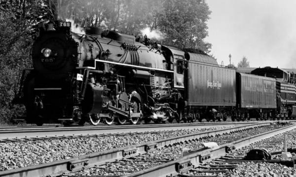 Photograph - Steam Locomotive 765 by David Dufresne