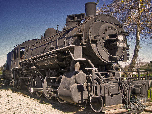 Photograph - Steam Locomotive by Gregory Dyer