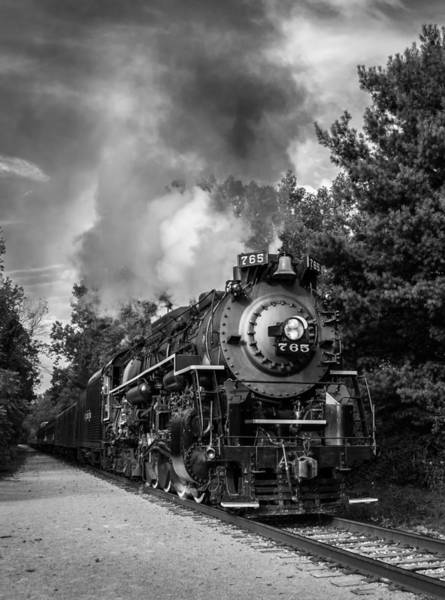 Photograph - Steam On The Rails by Dale Kincaid