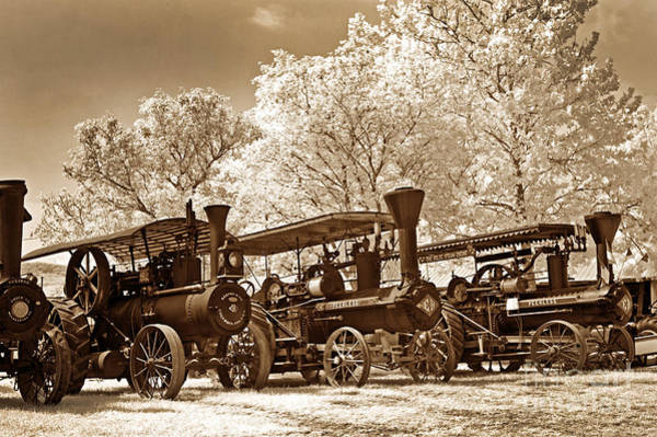 Photograph - Steam Powered Farming by Paul W Faust -  Impressions of Light