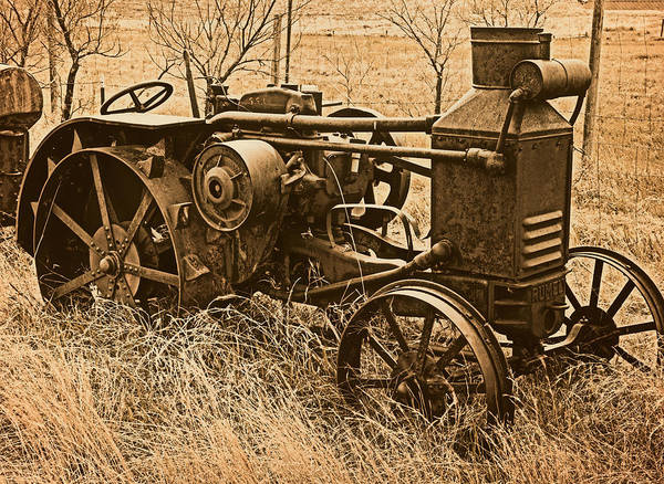 Photograph - Steam Tractor by Leland D Howard