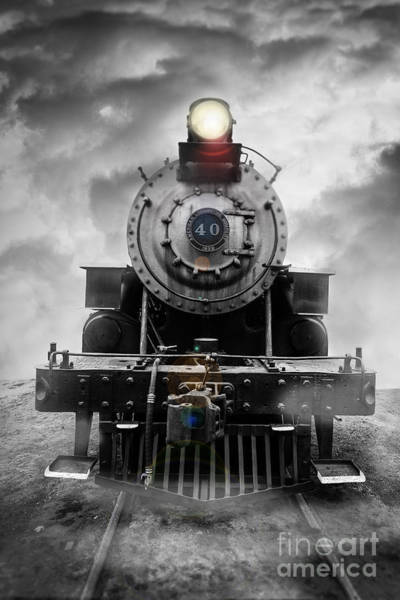 Steam Engine Photograph - Steam Train Dream by Edward Fielding