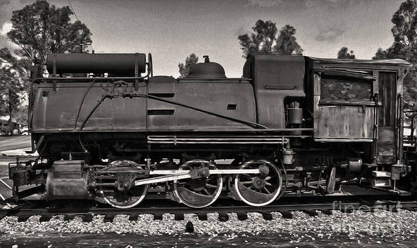 Photograph - Steam Train by Gregory Dyer