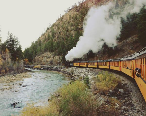 Silverton Photograph - Steam Train by Kevin Russ