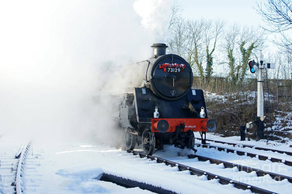 Photograph - Steam Up by David Birchall