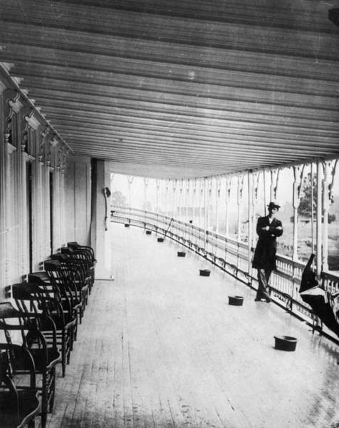 Photograph - Steamboat Deck, C1880 by Granger