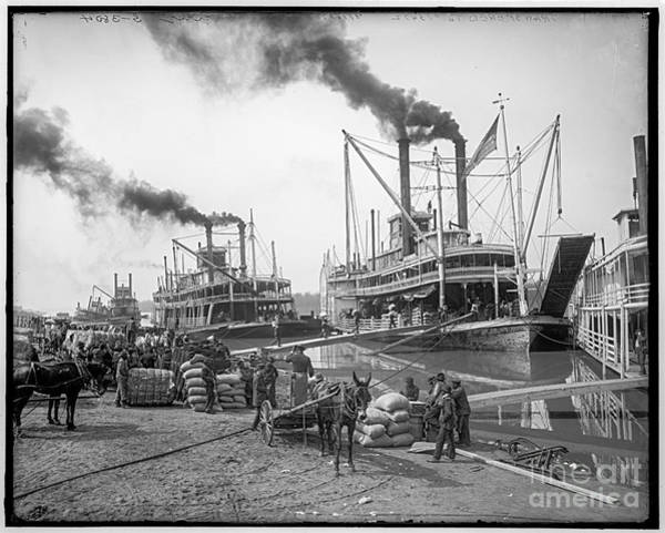 Photograph - Steamboat Landing by Russell Brown