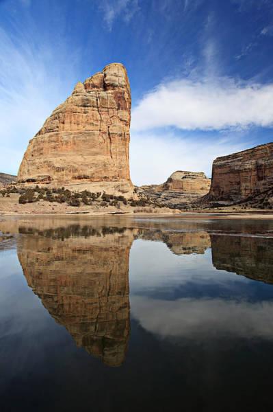 Photograph - Steamboat Rock Face by Darryl Wilkinson