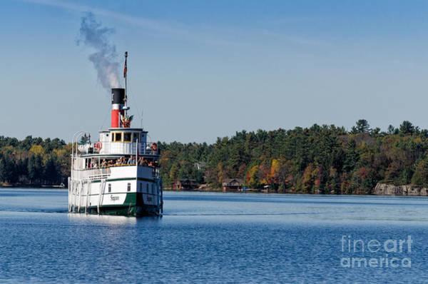 Photograph - Steamboat Segwun On Lake Muskoka  by Les Palenik