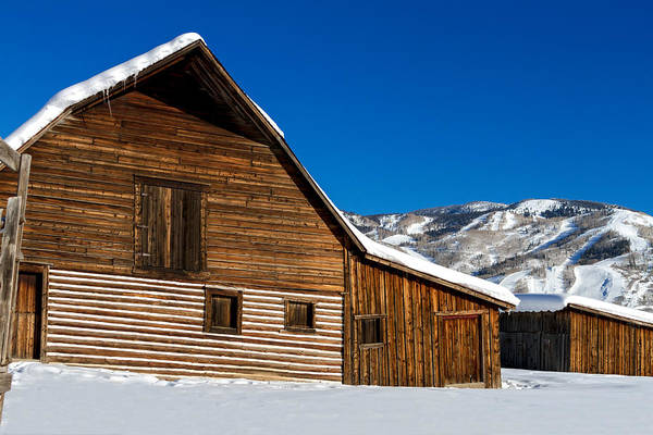 Photograph - Steamboat Springs Historic Barn by Teri Virbickis
