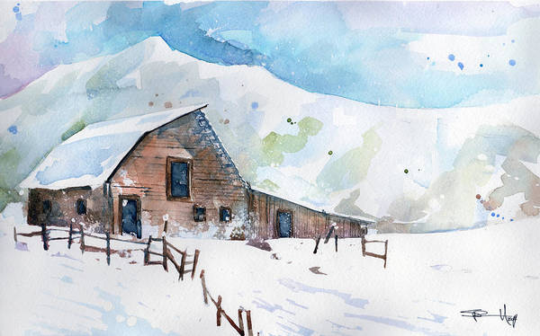 Painting - Steamboat Springs by Sean Parnell