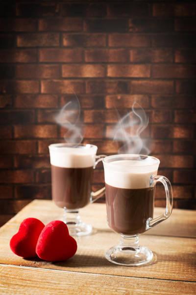Wall Art - Photograph - Steaming Hot Chocolates by Amanda Elwell