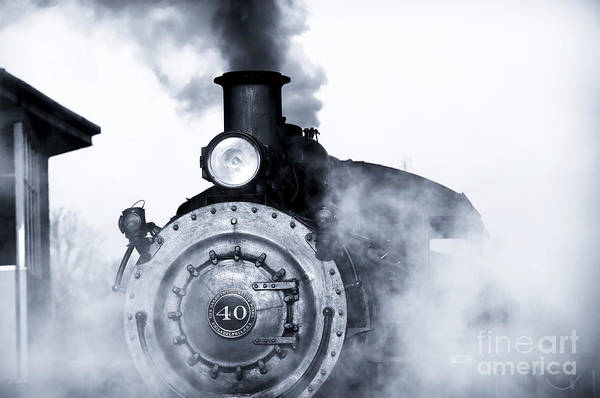 Photograph - Steaming by John Rizzuto