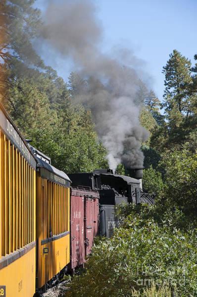 Photograph - Steaming Through Colorado by Brenda Kean